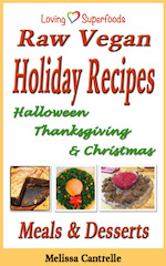 Raw Vegan Holiday Recipe Book